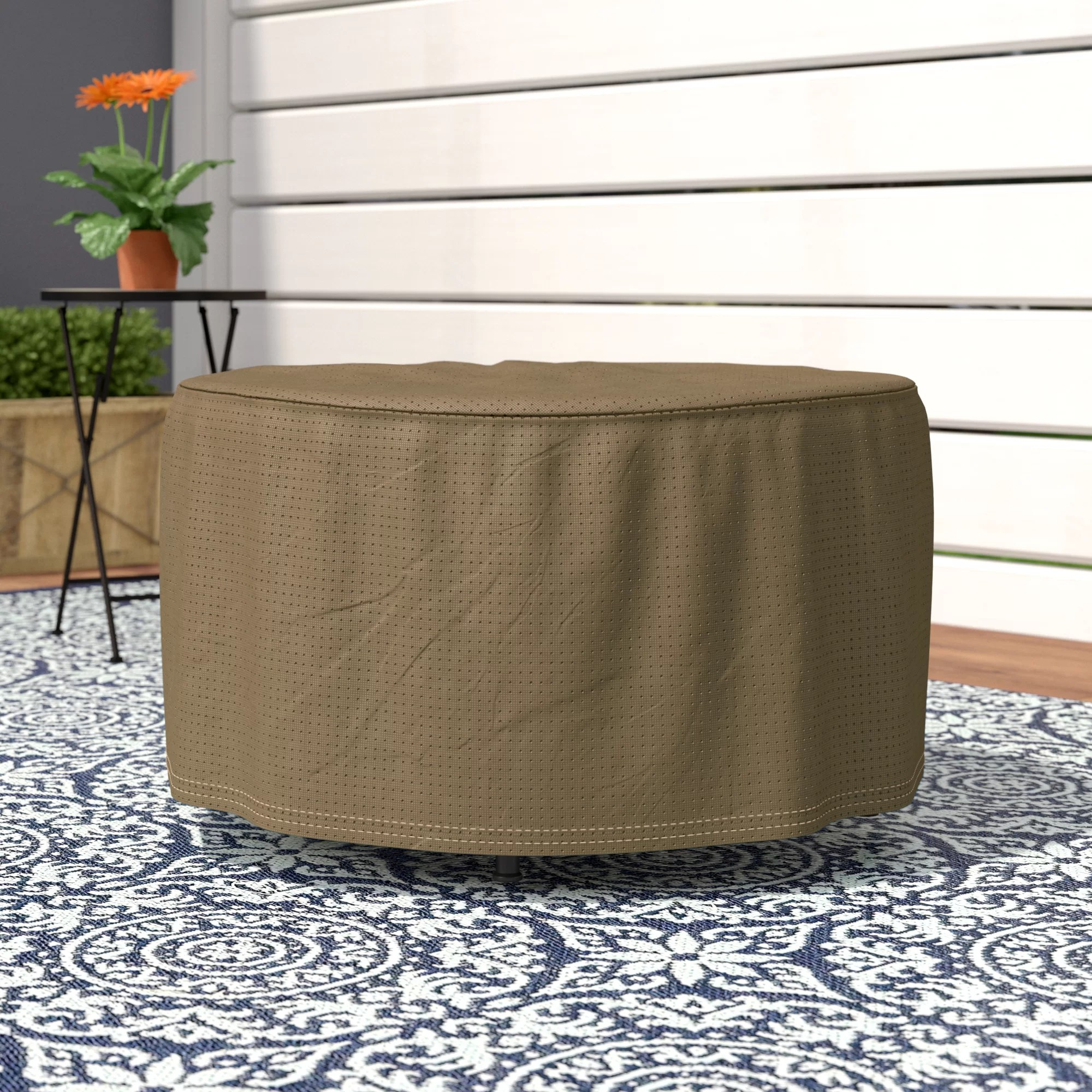 wayfair basics water resistant patio table cover