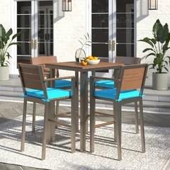 umbrella hole outdoor dining sets