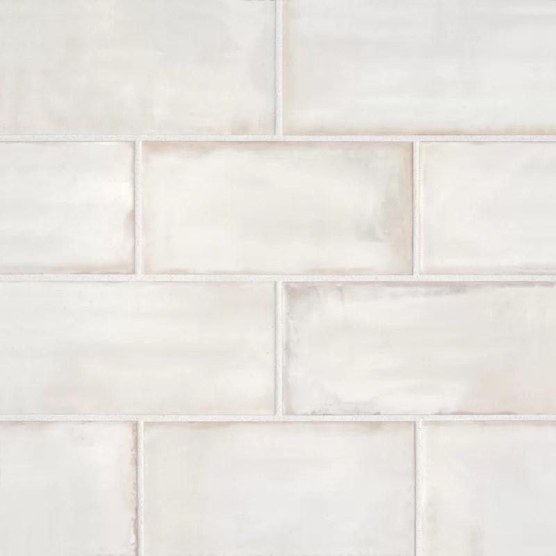 chateau 4 x 8 ceramic subway tile