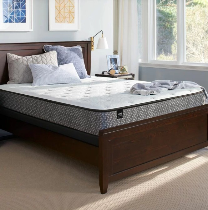 Sealy Response Essentials 10 5 Plush Top Mattress Set Reviews Wayfair