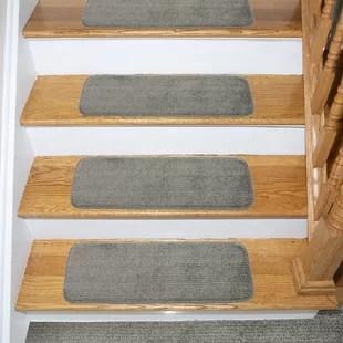 Stairs Carpet Runner Wayfair | Wayfair Stair Carpet Runners | Textured Carpet | Rosalind Wheeler | Staircase Makeover | Treads Carpet | Brown Beige