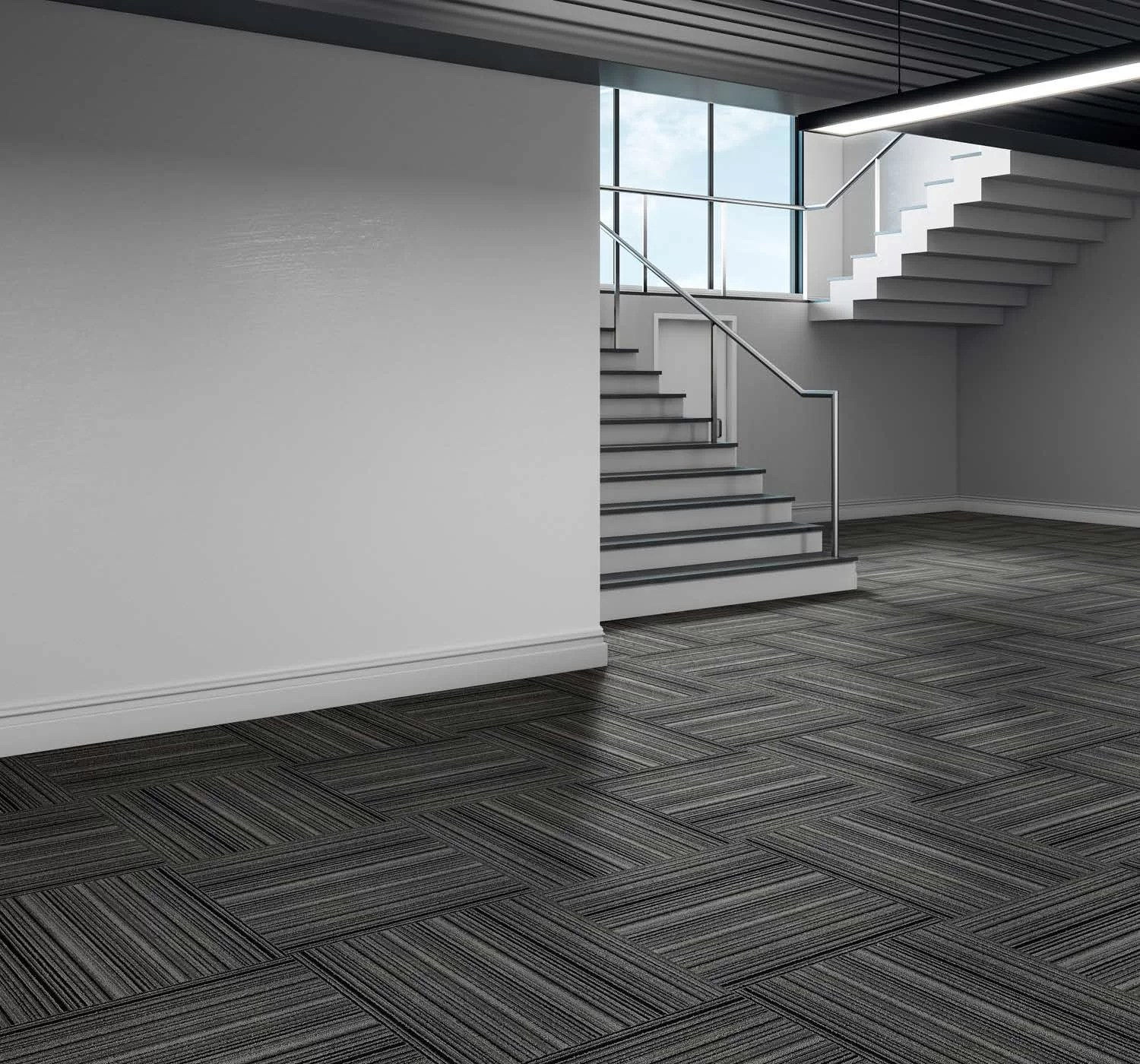 parallels 23 5 x 23 5 level loop peel and stick carpet tile