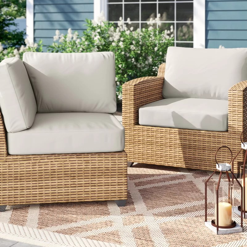 outdoor replacement cushion set