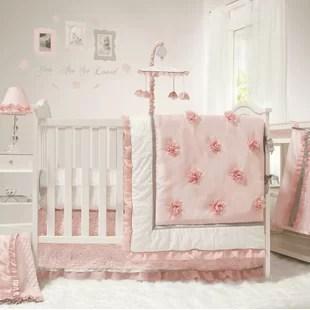 mcadoo 4 piece crib bedding set