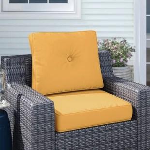 deep indoor outdoor sunbrella seat back cushion