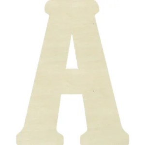 Large Wood Letters   Wayfair Janessa Large Wood Letter Hanging Initials