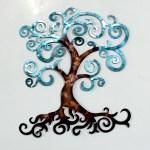 Red Barrel Studio Tree Of Life Medium Metal Wall Decor Wayfair