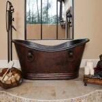 Premier Copper Products 67 X 34 Pedestal Soaking Copper Bathtub Wayfair