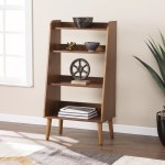 Corrigan Studio Bracken Midcentury Modern Ladder Bookcase Reviews Wayfair
