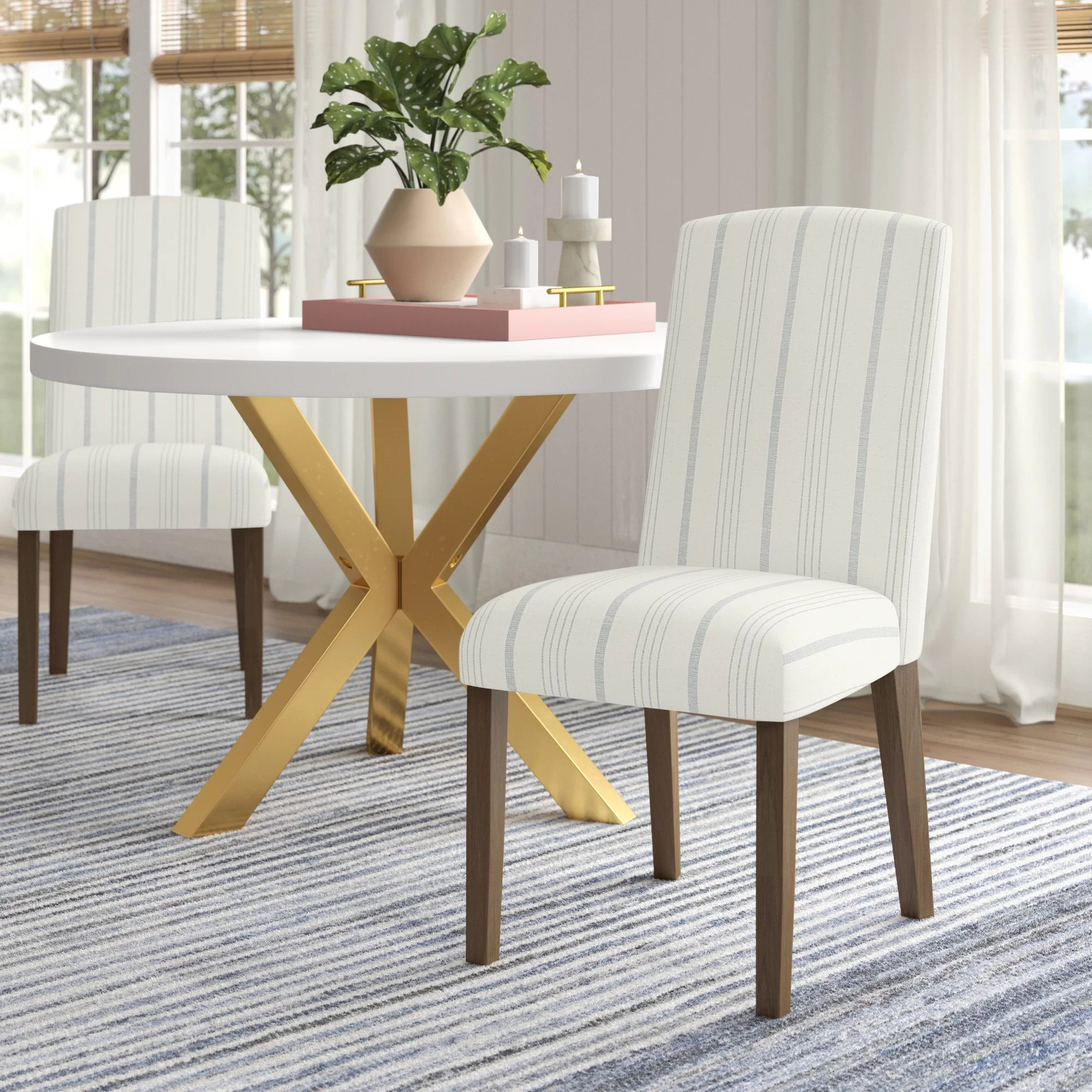 bob upholstered dining chair