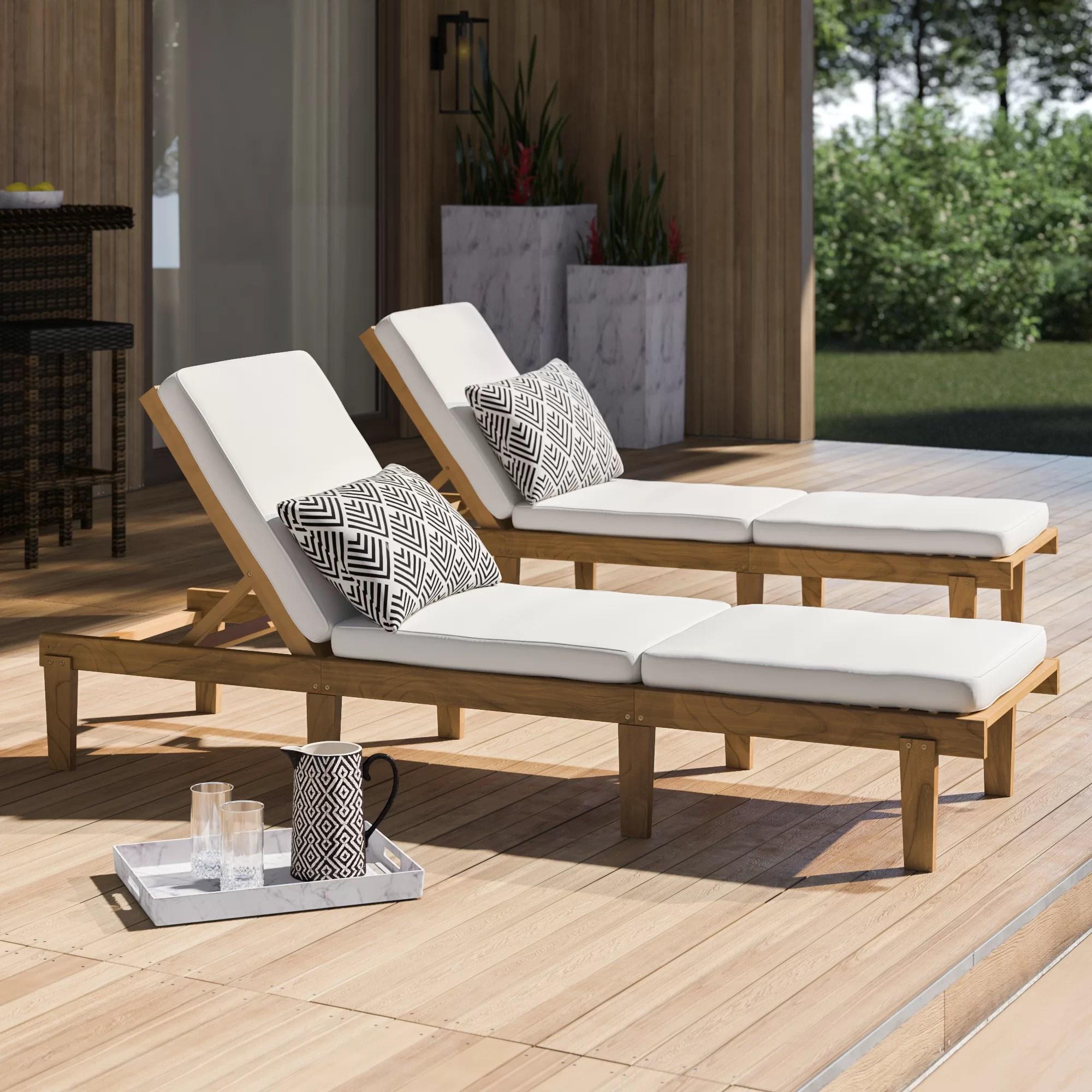 outdoor lounge chairs wayfair