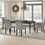 Charlton Home Evelin Solid Wood Dining Set Reviews
