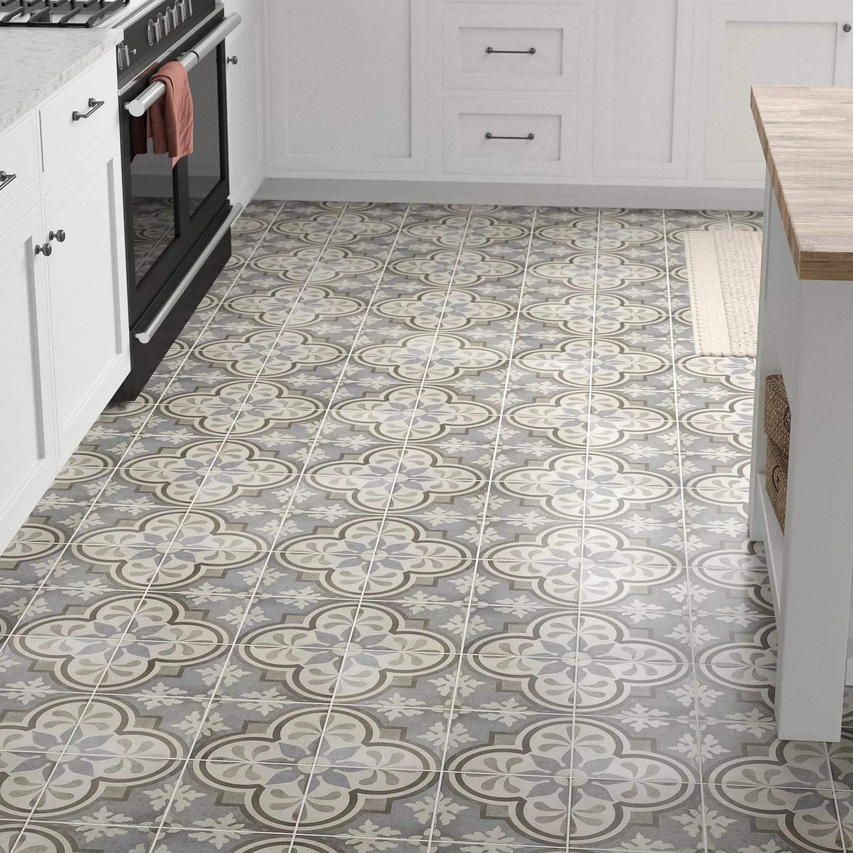 encausto 8 x 8 porcelain spanish wall floor tile