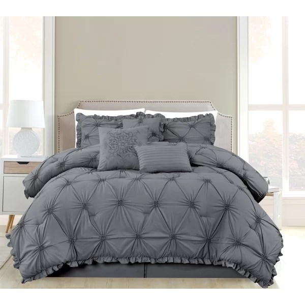adele 7 pc comforter set