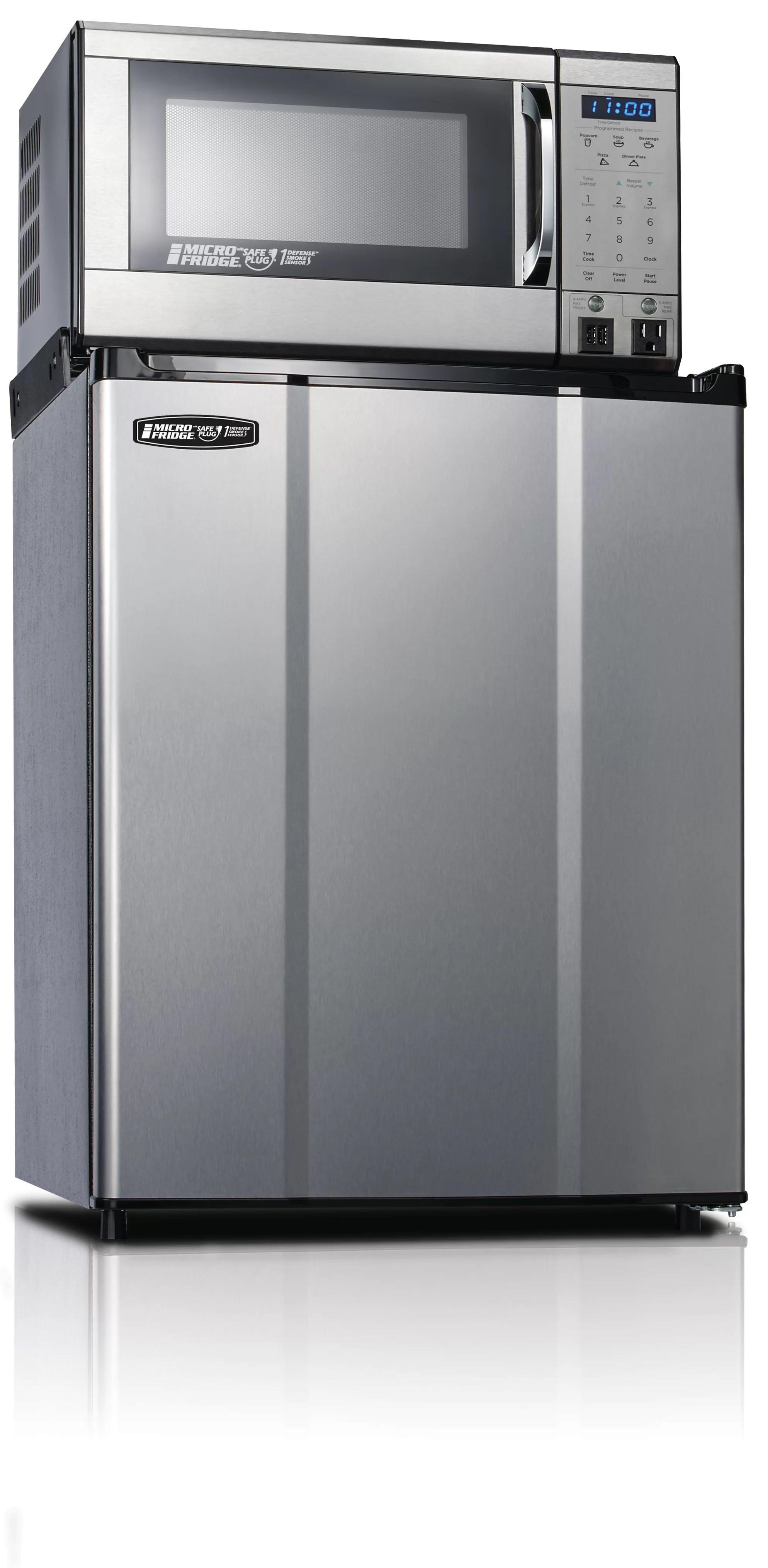 microfridge safe plug 2 3 cubic feet cu ft freestanding mini fridge with microwave