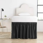 House Of Hampton Pinkston Luxury Plush Dorm 30 Bed Skirt Wayfair
