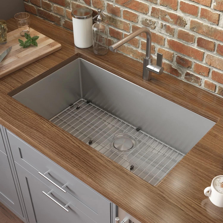 ruvati 33 l x 19 w undermount kitchen sink