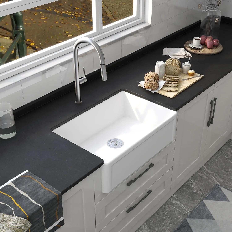 30 l x 20 w farmhouse kitchen sink
