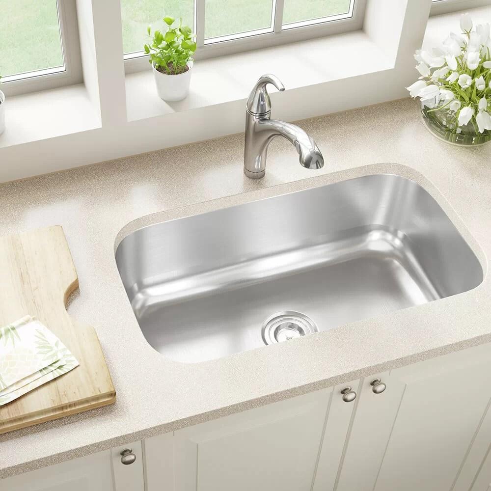 stainless steel 31 x 18 undermount kitchen sink
