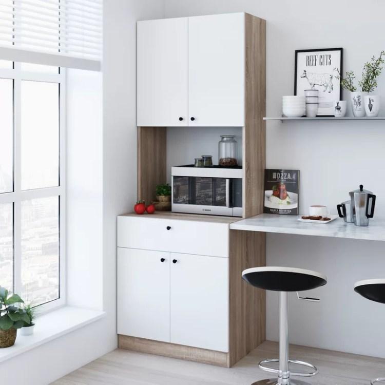 Wrought Studio Cockfosters 71 Kitchen Pantry Reviews Wayfair Ca