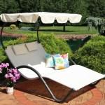 Ebern Designs Charlbury Double Chaise Lounge With Cushion Reviews Wayfair