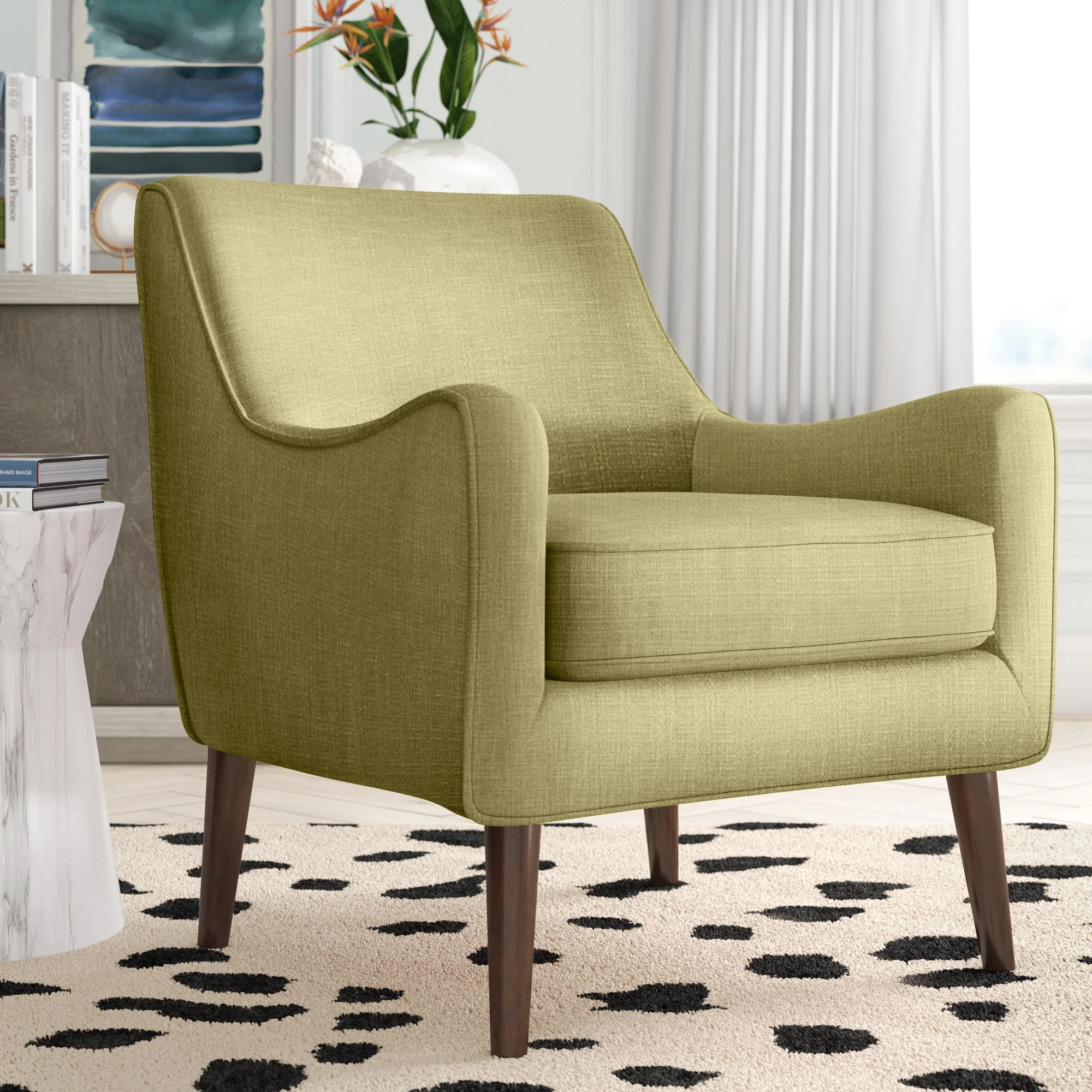 rustic accent chairs joss main