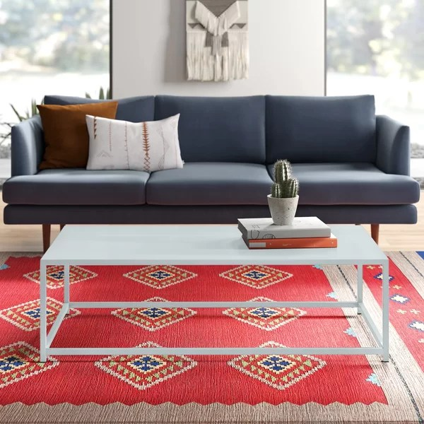 modern contemporary extra long coffee table