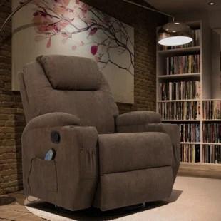 swivel rocker reclining heated full body massage chair