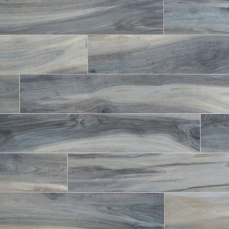 rio tiger blue matte 8 x 48 porcelain wood look wall floor tile