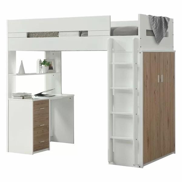 teen bunk loft beds