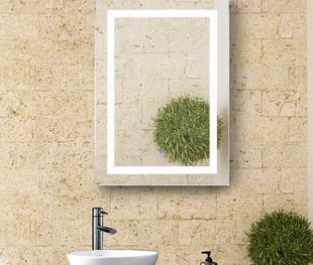 Butcher Illuminated Bathroom Wall Mirror