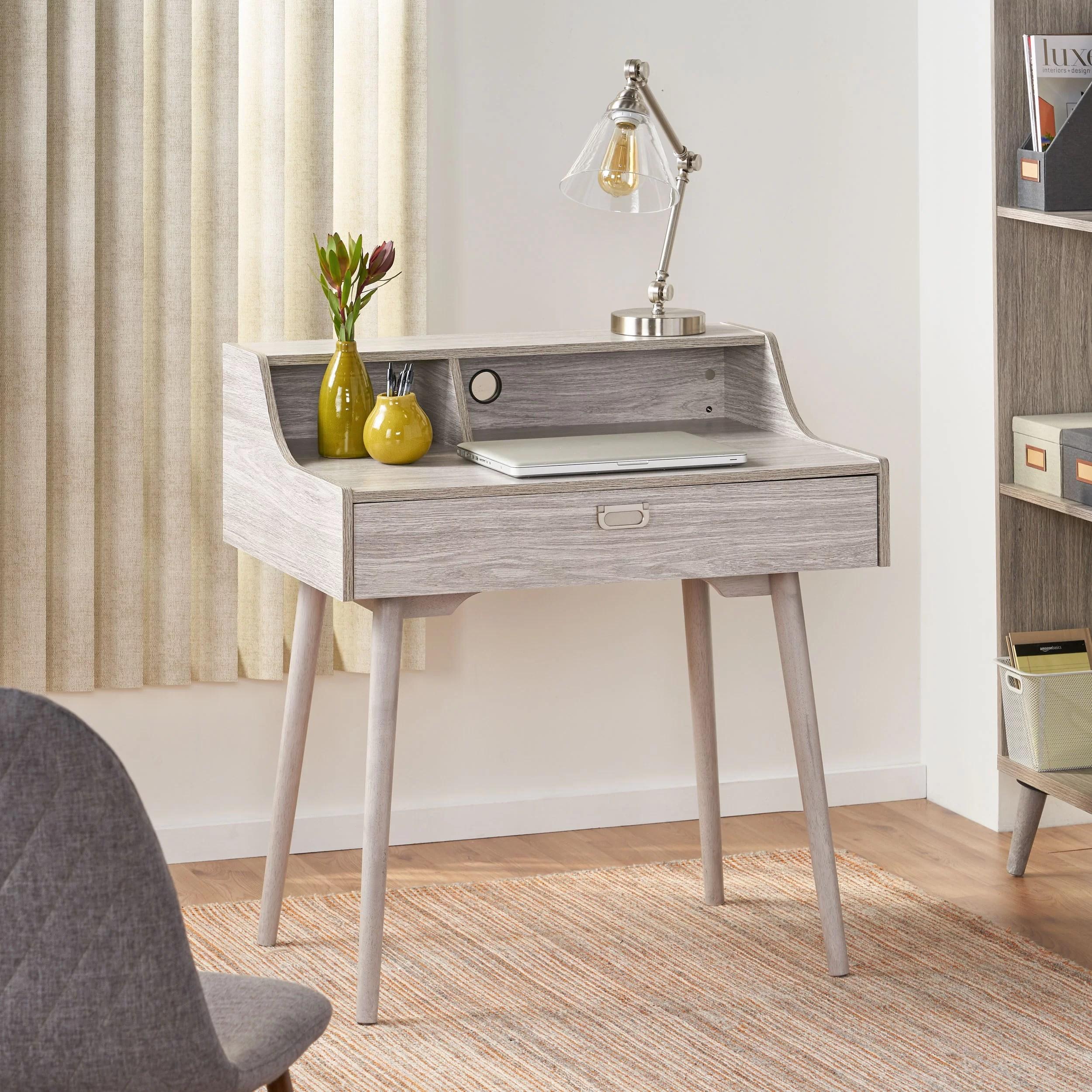 Mid Century Modern Secretary Roll Top Desks You Ll Love In 2020 Wayfair