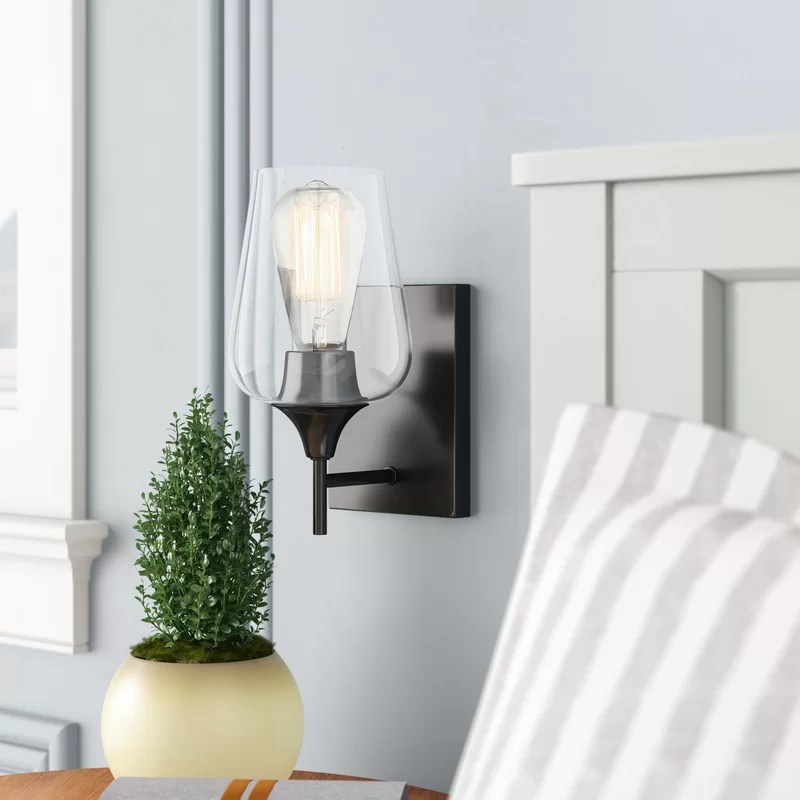 Hickerson 1 - Light Dimmable Armed Sconce