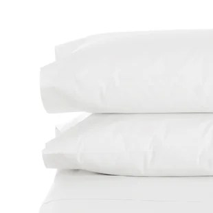 melville bamboo feel 1800 thread count pillow case set of 2