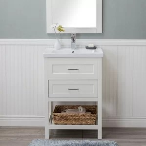 24 inch bathroom vanities you'll love   wayfair