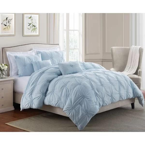 baby blue comforter set