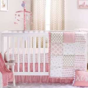 Swan Princess Baby Crib Set   Wayfair Sweet Swan 6 Piece Crib Bedding Set