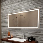 Orren Ellis Bolyard Dimmable Led Lighted Bathroom Vanity Mirror Reviews Wayfair