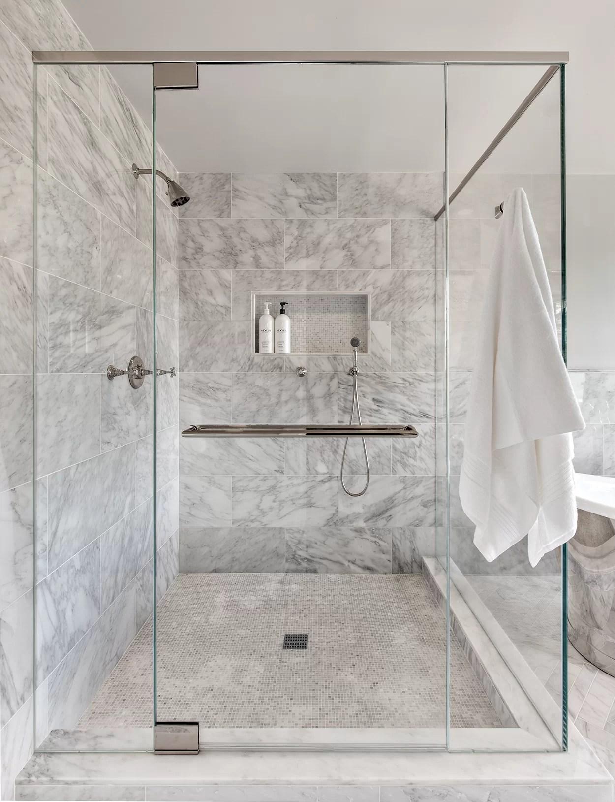 11 dazzling shower tile ideas for your shower renovation wayfair