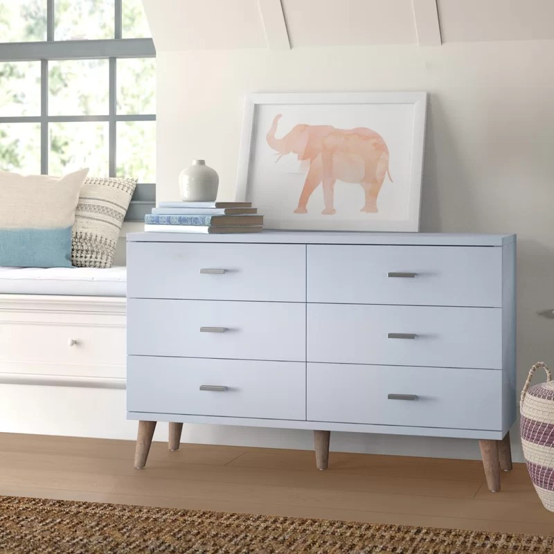 wallingford 6 drawer double dresser