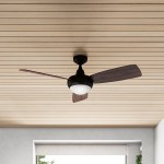 52 Alyce 3 Blade Propeller Ceiling Fan With Remote Control And Light Kit Included Reviews Allmodern