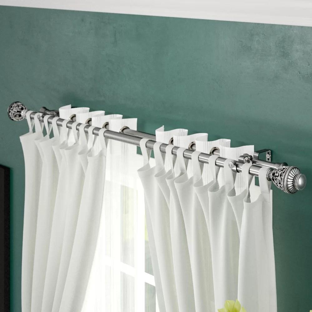 dewitt double curtain rod