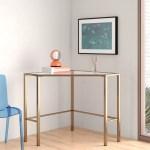Corner Glass Desks You Ll Love In 2020