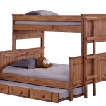 Harriet Bee Choquette Stackable Twin Over Full Bunk Bed With Trundle