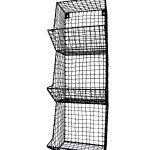 Gracie Oaks Alisha 3 Bin Fruit Vegetable Wire Storage Organizer Wall Basket Reviews Wayfair