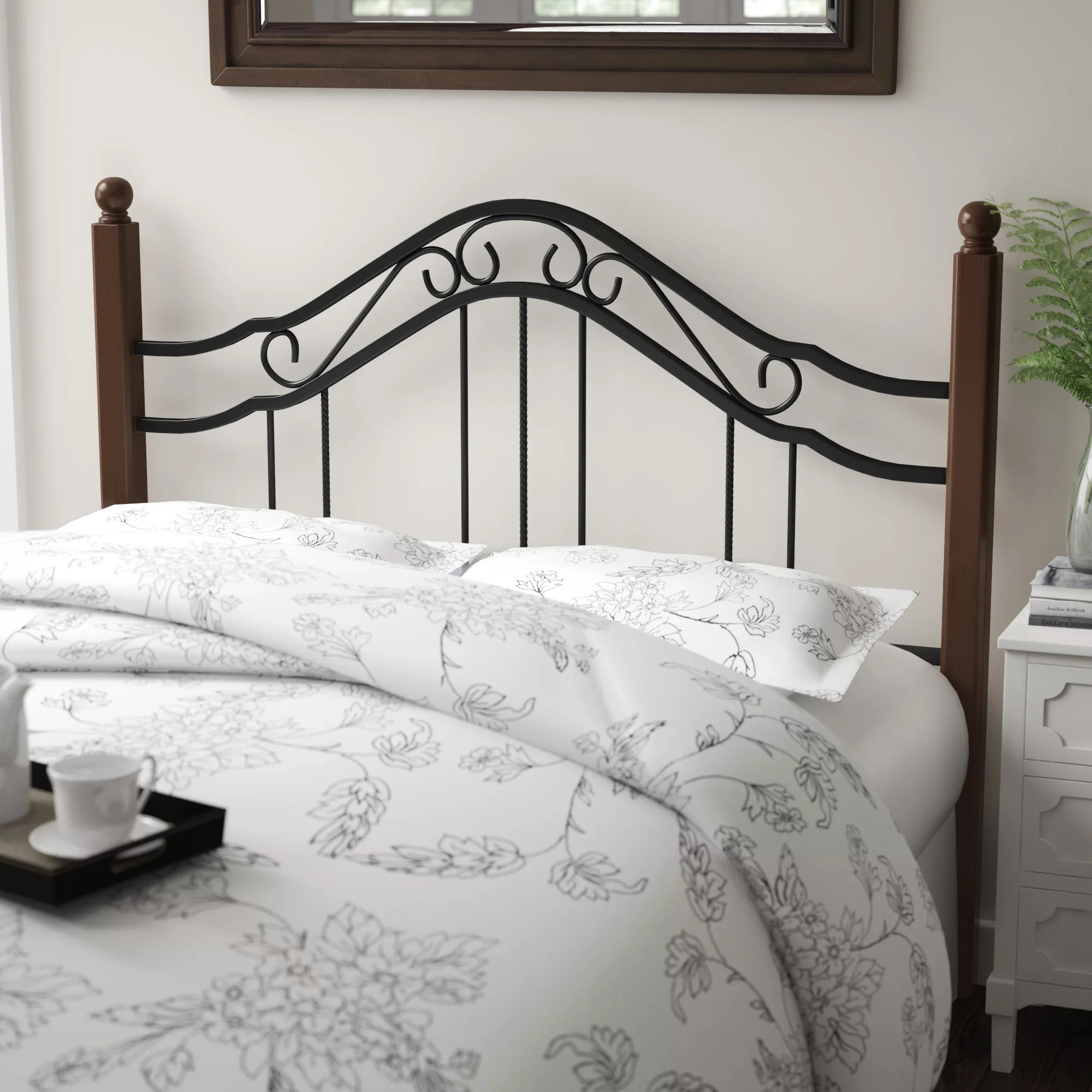 queen wood metal headboards you ll