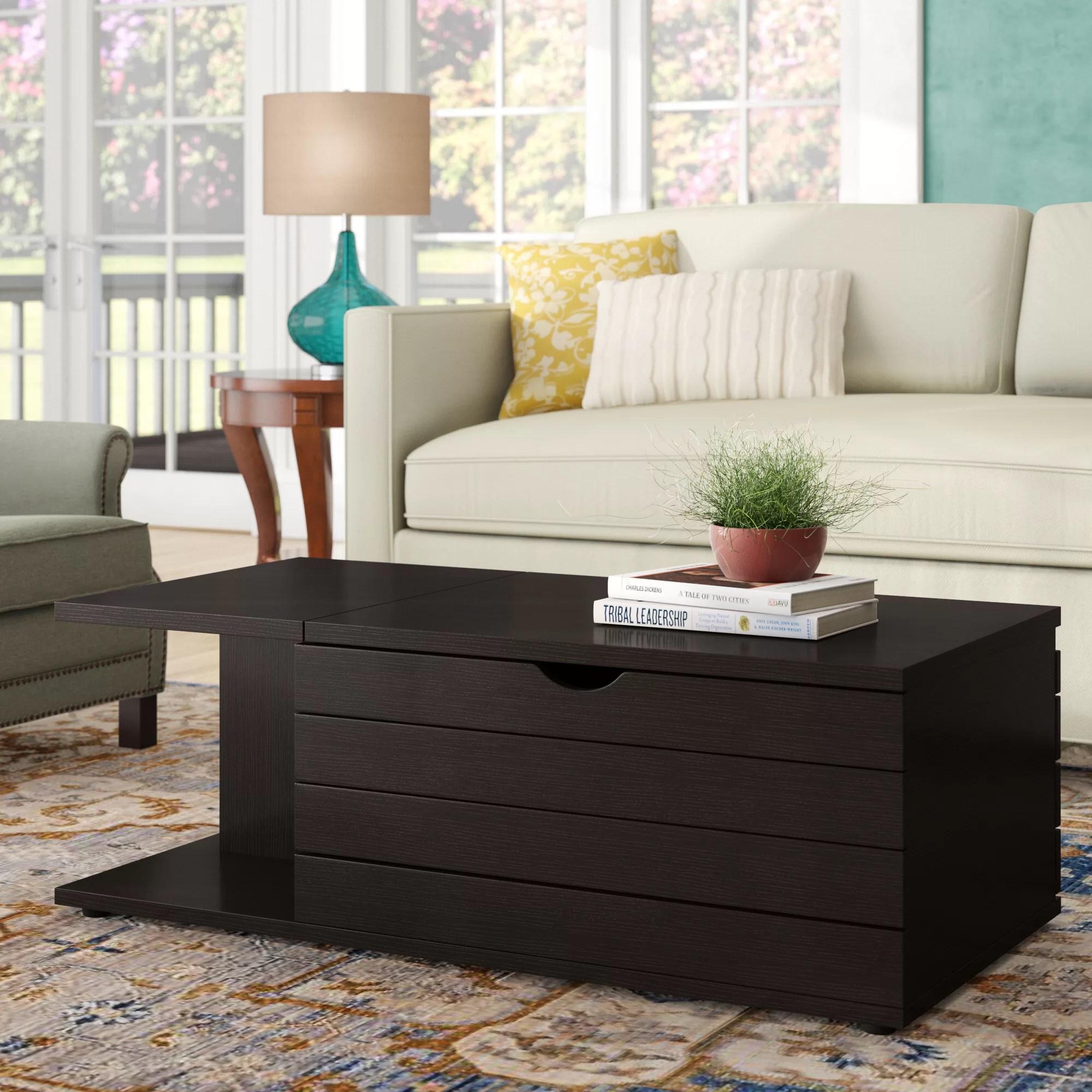 leesport transitional coffee table