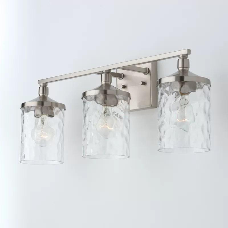 baldwin 3 light dimmable vanity light