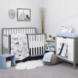 navy blue crib bedding set wayfair