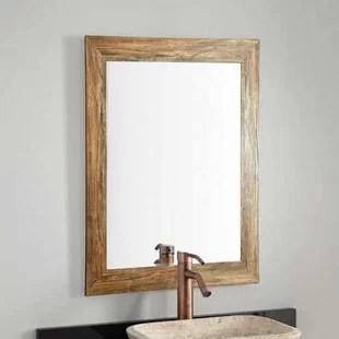 barnwood traditional bathroom vanity wall mirror